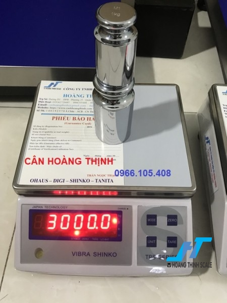 Cân điện tử VIBRA TPS 6kg được Cân Hoàng Thịnh cung cấp hàng chính hãng chất lượng cao, giao hàng miễn phí tận nơi. Liên hệ 0966.105.408 để được giảm giá ngay 10%