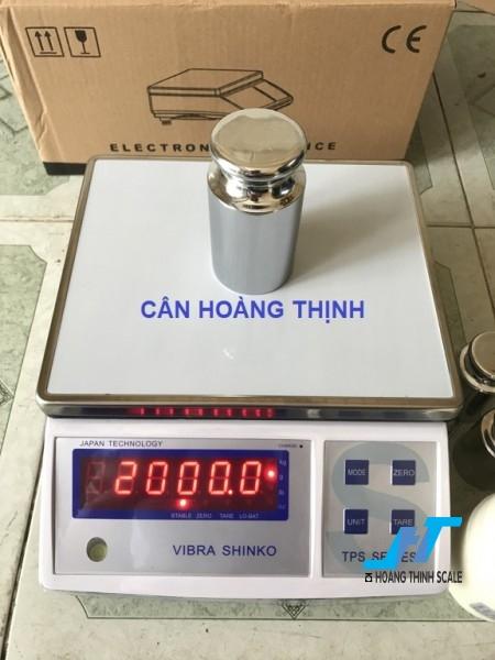 Cân điện tử VIBRA TPS 3kg được Cân Hoàng Thịnh cung cấp hàng chính hãng chất lượng cao, giao hàng miễn phí tận nơi. Liên hệ 0966.105.408 để được giảm giá ngay 10%