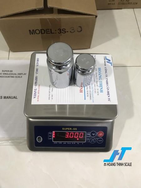 Cân điện tử thủy sản SUPER SS 3kg là cân chuyên dùng cho cân thủy hải sản được Cân Hoàng Thịnh cung cấp hàng chất lượng cao. Liên hệ 0966.105.408 giảm giá ngay 10%