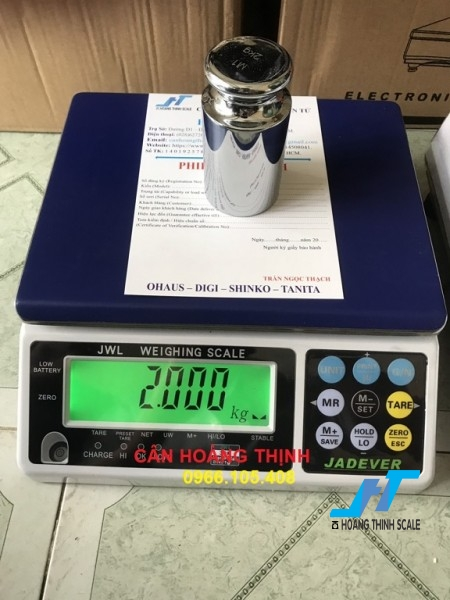Cân điện tử JWL 6kg được Cân Hoàng Thịnh cung cấp hàng chính hãng chất lượng cao, giao hàng miễn phí tận nơi. Liên hệ 0966.105.408 để được giảm giá ngay 10%