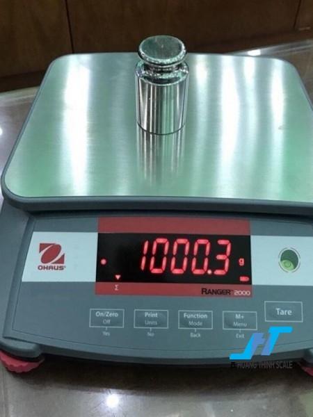 Cân điện tử OHAUS 15kg được Cân Hoàng Thịnh cung cấp hàng chính hãng chất lượng cao, giao hàng miễn phí tận nơi. Liên hệ 0966.105.408 để được giảm giá ngay 10%
