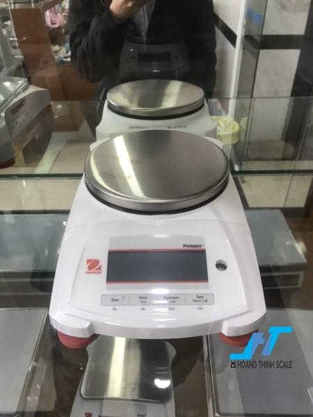 Cân điện tử kỹ thuật Ohaus PX 2200g 0.01g là mẫu cân được sử dụng trong phòng thí nghiệm, cân trọng lượng các mẫu vật nhỏ