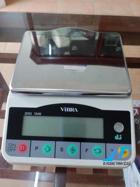 Cân điện tử kỹ thuật Vibra DJ 6200g - 0.01g là mẫu cân được sử dụng trong phòng thí nghiệm, cân trọng lượng các mẫu vật nhỏ