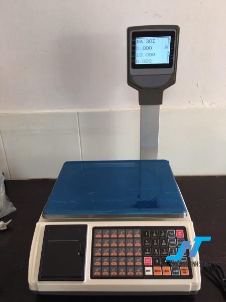 Cân điện tử in hóa đơn LCD JPT 30kg cân chuyên dùng cho cân siêu thị bán hàng được Cân Hoàng Thịnh cung cấp chính hãng chất lượng. Liên hệ 0966.105.408 để được giảm giá ngay 10%