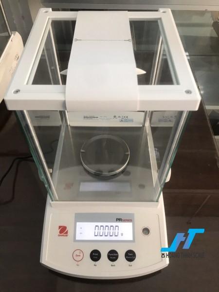 Cân phân tích OHAUS PR224E 220g - 0.0001g được thiết kế dành riêng cho cân ngành vàng theo thông tư mới ở Việt Nam