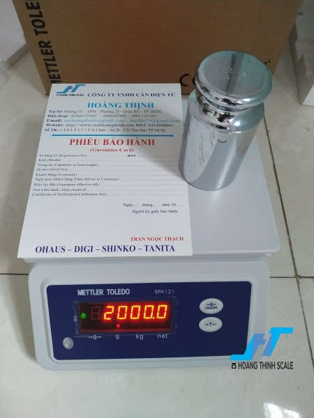 Cân điện tử thủy sản metteler toledo BPA121 6kg là cân chuyên dùng cho cân thủy hải sản được Cân Hoàng Thịnh cung cấp, mua cân thủy sản bpa121 6kg gọi 0966.105.408