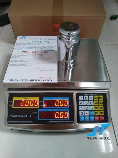 Cân điện tử tính giá inox TPS LPS11E 30kg cân chuyên dùng cho cân siêu thị bán hàng được Cân Hoàng Thịnh cung cấp chính hãng chất lượng. Liên hệ 0966.105.408