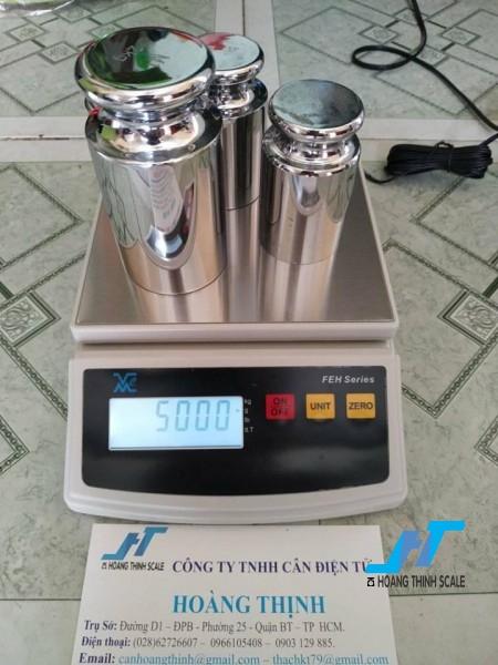 Cân điện tử FEH 5kg được Cân Hoàng Thịnh cung cấp, cân chính hãng chất lượng cao, giao hàng miễn phí tận nơi. Liên hệ 0966.105.408 để được giảm giá ngay 10%
