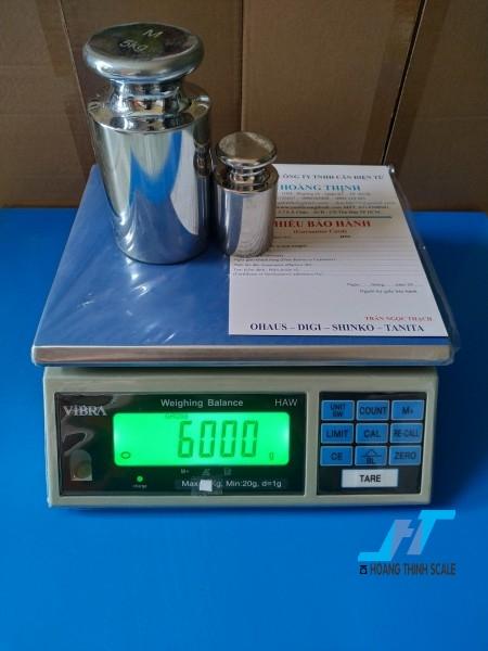Cân điện tử HAW 6kg được Cân Hoàng Thịnh cung cấp hàng chính hãng chất lượng cao, giao hàng miễn phí tận nơi. Liên hệ 0966.105.408 để được giảm giá ngay 10%