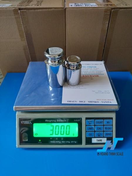 Cân điện tử HAW 30kg được Cân Hoàng Thịnh cung cấp hàng chính hãng chất lượng cao, giao hàng miễn phí tận nơi. Liên hệ 0966.105.408 để được giảm giá ngay 10%