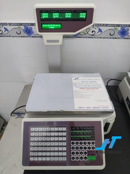 Cân điện tử siêu thị in tem TMA 30kg cân chuyên dùng cho cân bán hàng được Cân Hoàng Thịnh cung cấp chính hãng chất lượng. Liên hệ 0966.105.408 để được giảm giá ngay 10%