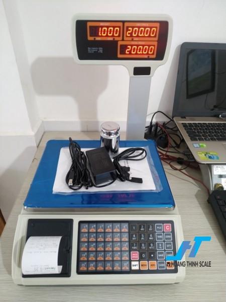 Cân điện tử in hóa đơn JPT 30kg cân chuyên dùng cho cân siêu thị bán hàng được Cân Hoàng Thịnh cung cấp chính hãng chất lượng. Liên hệ 0966.105.408 để được giảm giá ngay 10%