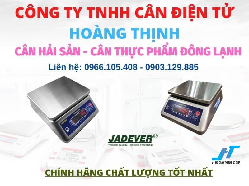 Cân hải sản được Cân Hoàng Thịnh cung cấp được dùng cho cân thực phẩm hàng đông lạnh chất lượng tốt nhất, báo giá cân hải sản chống nước gọi 0966.105.408