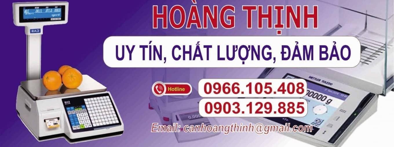 CÔNG TY CÂN ĐIỆN TỬ HOÀNG THINH 0966105408
